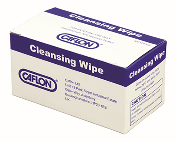 caflon cleansing wipes box