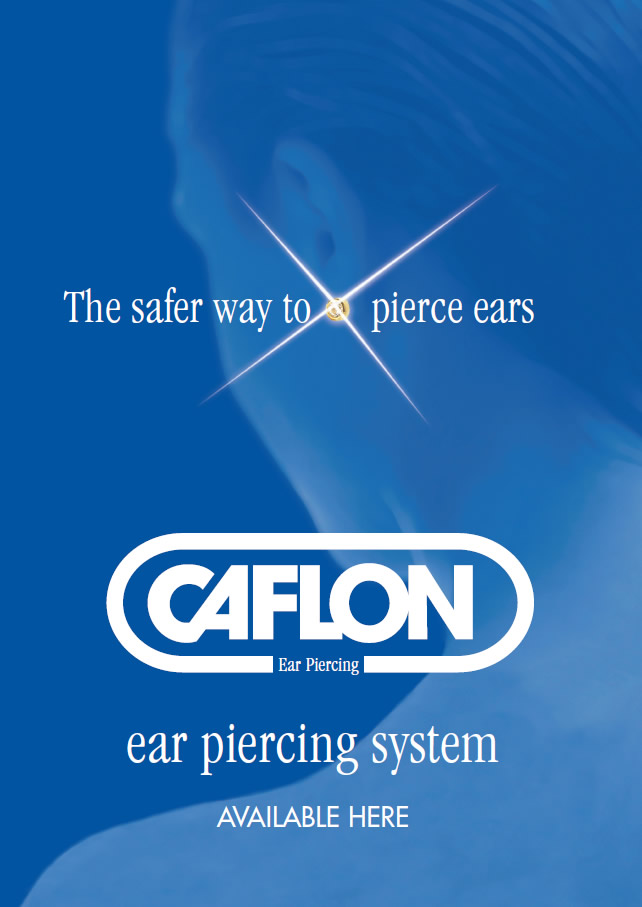 safer way to pierce ears poster